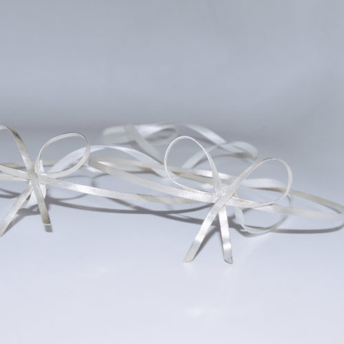Bow wedding crowns, sterling silver 925, bespoke, custom made