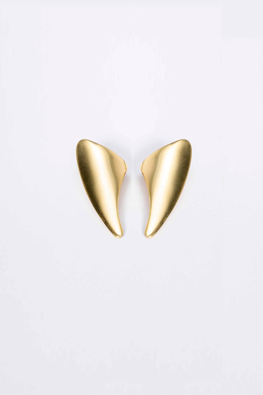 sterling silver 925, elegant earrings, gold plated